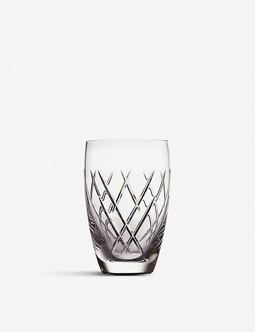 JOHN ROCHA @ WATERFORD: Waterford x John Rocha crystal tumbler set of four
