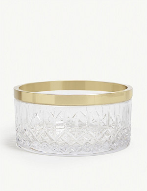 WATERFORD Lismre reflection crystal bowl 20cm
