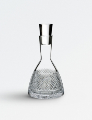 WATERFORD Diamond Line crystal decanter