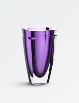 WATERFORD W Collection Heather crystal vase 18cm
