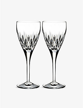 WATERFORD: Enis wine glasses set of two