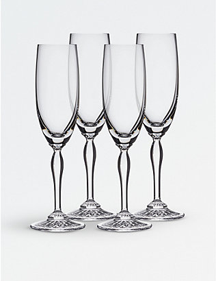 WATERFORD: Arden Mara crystal flutes set of two