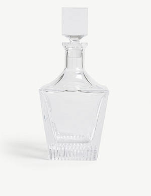 WATERFORD Short Stories glass decanter 28cm