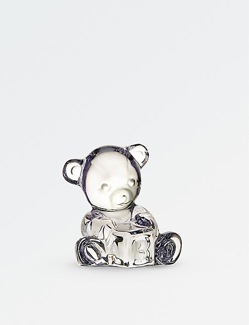 WATERFORD: Giftology Baby Bear with ABC Block figure