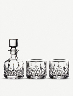 WATERFORD Markham stacking decanter and glasses set