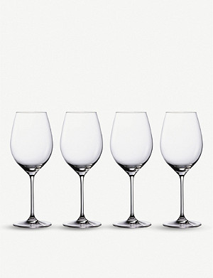 WATERFORD Moments crystal glass red wine glasses set of four
