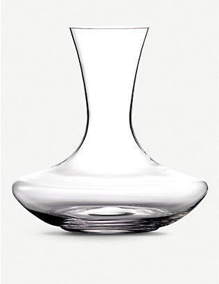 WATERFORD: Moments crystal glass decanter 1.5L