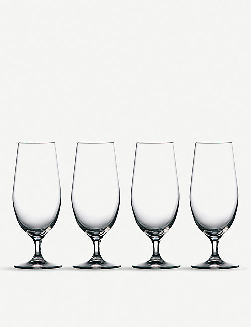 WATERFORD Marquis Moments beer glasses set 4