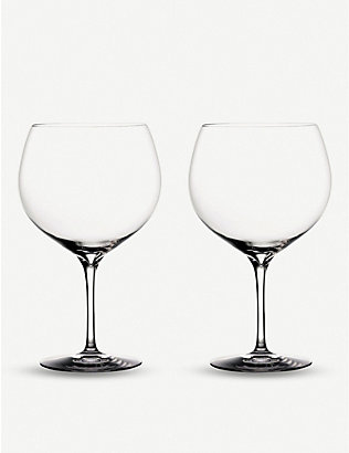 WATERFORD: Elegance Gin Balloon glasses set of two