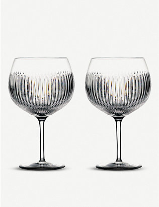WATERFORD: Gin Journey Aras Balloon glasses set of two
