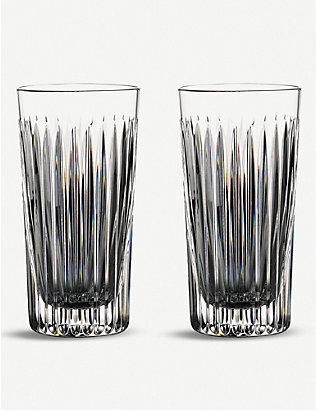 WATERFORD: Gin Journey Aras Hi Ball Glasses - set of two