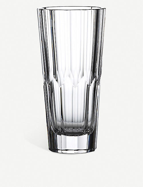 WATERFORD: Jeff Leatham Icon crystal vase 25cm