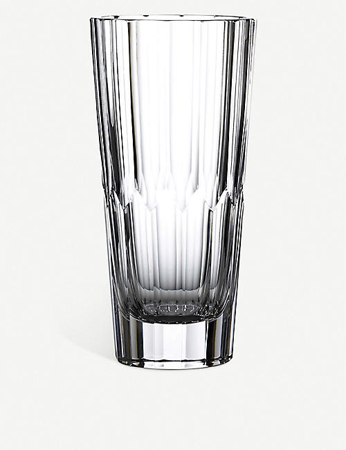 WATERFORD: Jeff Leatham Icon crystal vase 30cm