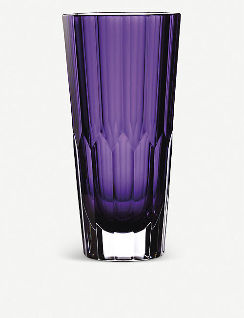 WATERFORD: Jeff Leatham Icon crystal case 30cm