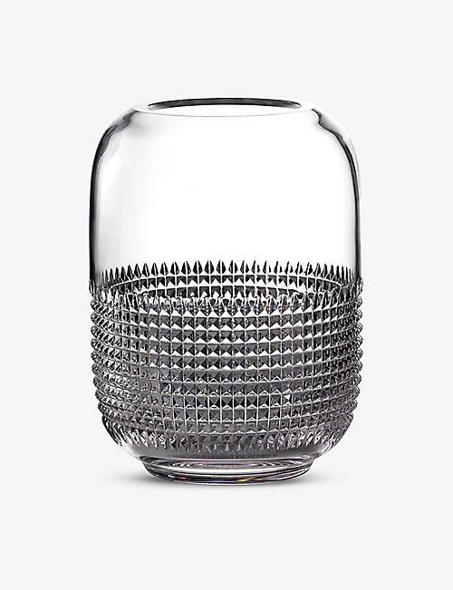 WATERFORD: Infinity crystal vase 30cm