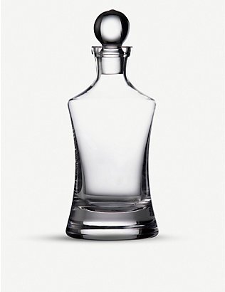 WATERFORD: Marquis Moments Hourglass crystalline decanter 800ml