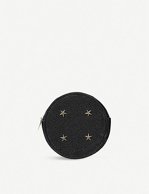 TYPO Studded leather coin purse