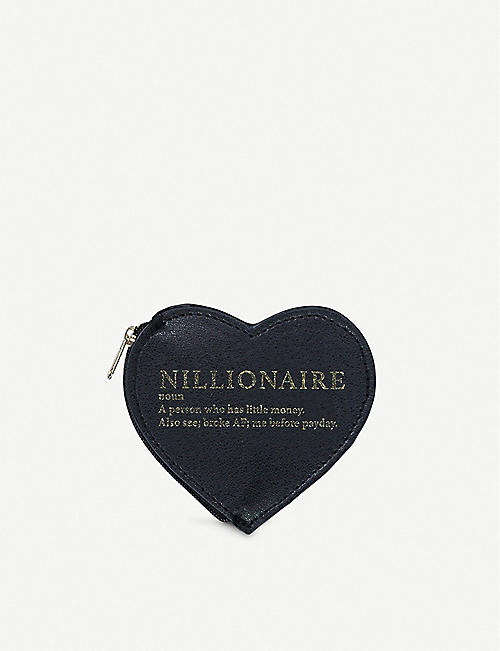 TYPO Nillionaire coin purse