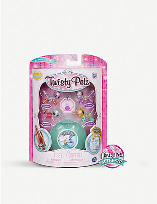 POCKET MONEY: Twisty Petz babies pack of 4