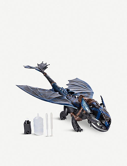 HOW TO TRAIN A DRAGON Fire Breathing Toothless Toy
