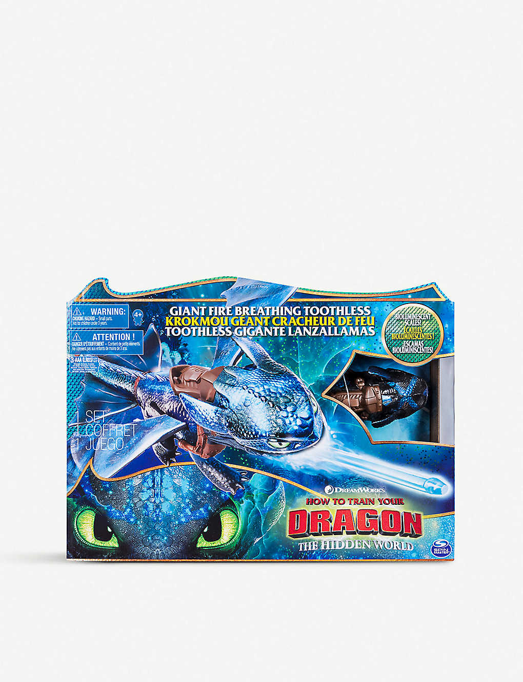 Aaa Com Myaccount >> How To Train A Dragon Fire Breathing Toothless Toy