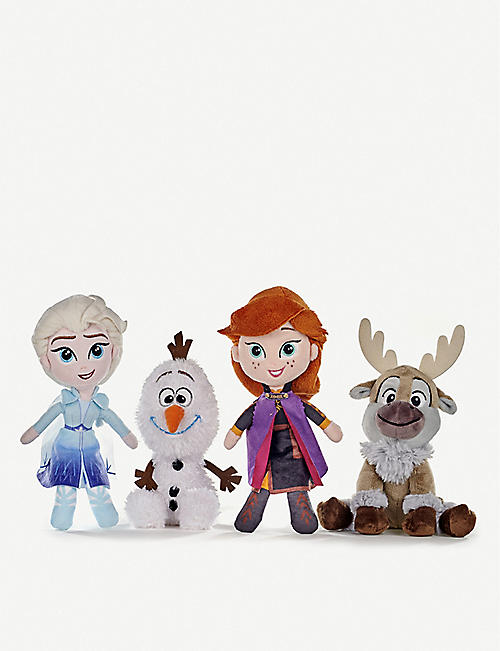 FROZEN Frozen soft toys 20cm set of four