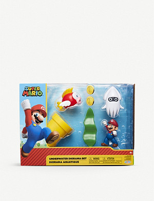POCKET MONEY Super Mario Underwater Diorama Set