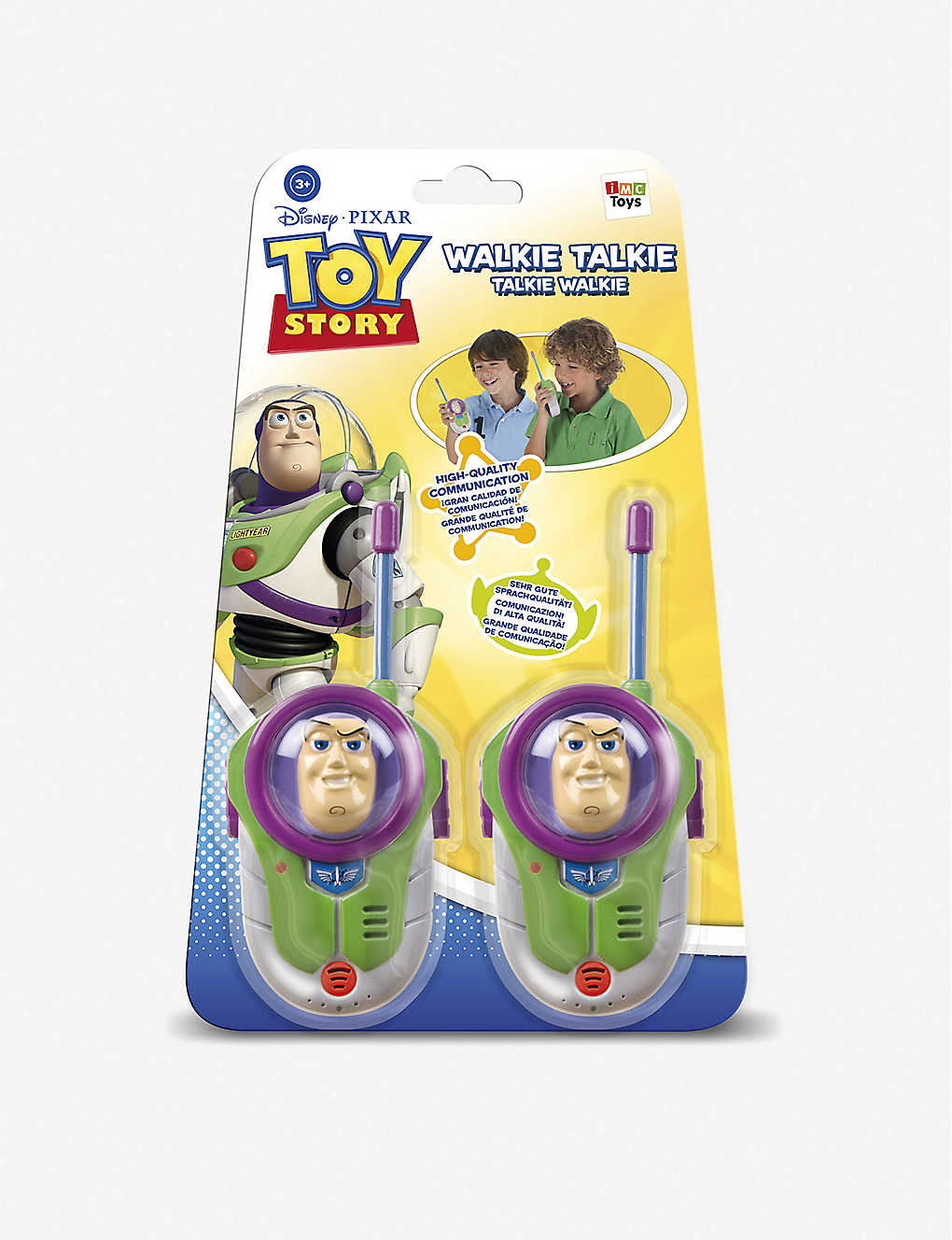 TOY STORY: Disney Pixar Toy Story Buzz Lightyear walkie talkies