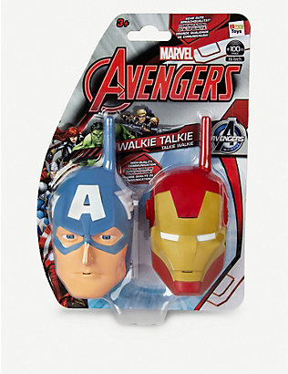 MARVEL AVENGERS: Disney Captain America and Iron Man walkie talkies