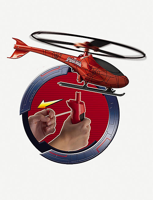 SPIDERMAN Spiderman rescue helicopter set