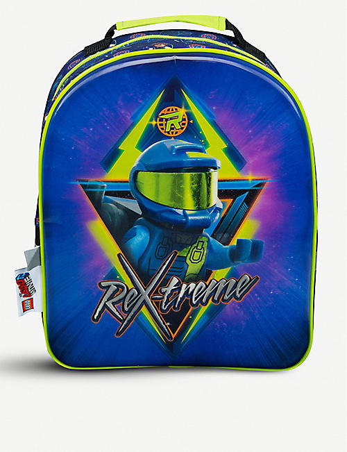 LEGO MOVIE 2 Rex-print shell backpack age 3+