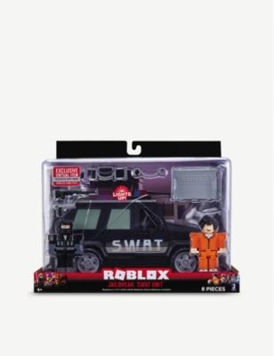 Roblox Jailbreak Swat Car Roblox Roblox Jailbreak Swat Unit Playset Selfridges Com
