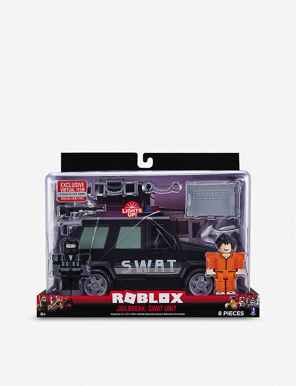 Roblox Projects Controllable Fire Roblox Roblox Jailbreak Swat Unit Playset Selfridges Com