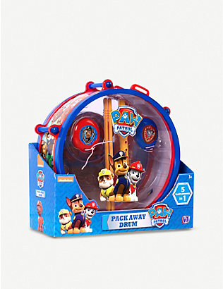 PAW PATROL: Paw Patrol Drum Kit Musical Instrument