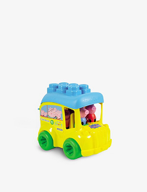 PEPPA PIG Clemmy block bus toy set