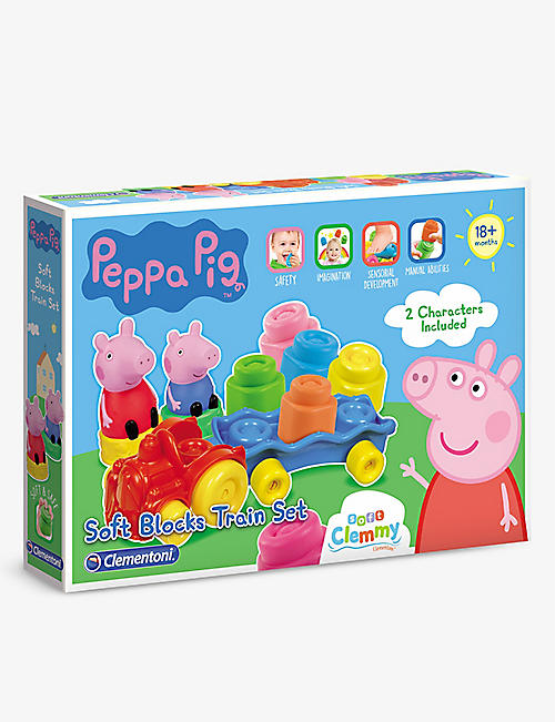 PEPPA PIG: Clemmy block train toy