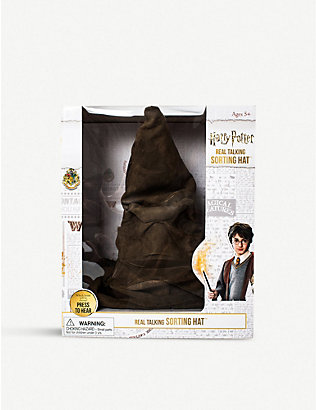 WIZARDING WORLD: Harry Potter Sorting Hat interactive plush toy
