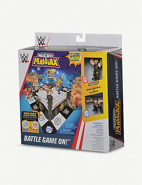 WWE Micro Maniax Battle Game On! playset