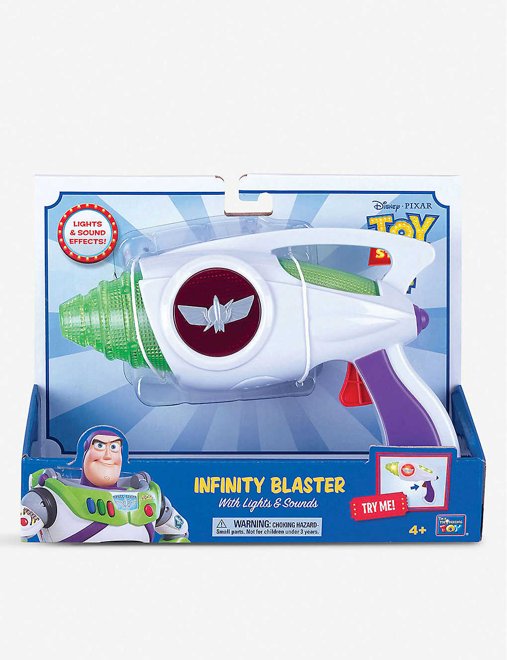 TOY STORY: Disney Buzz Lightyear Infinity blaster