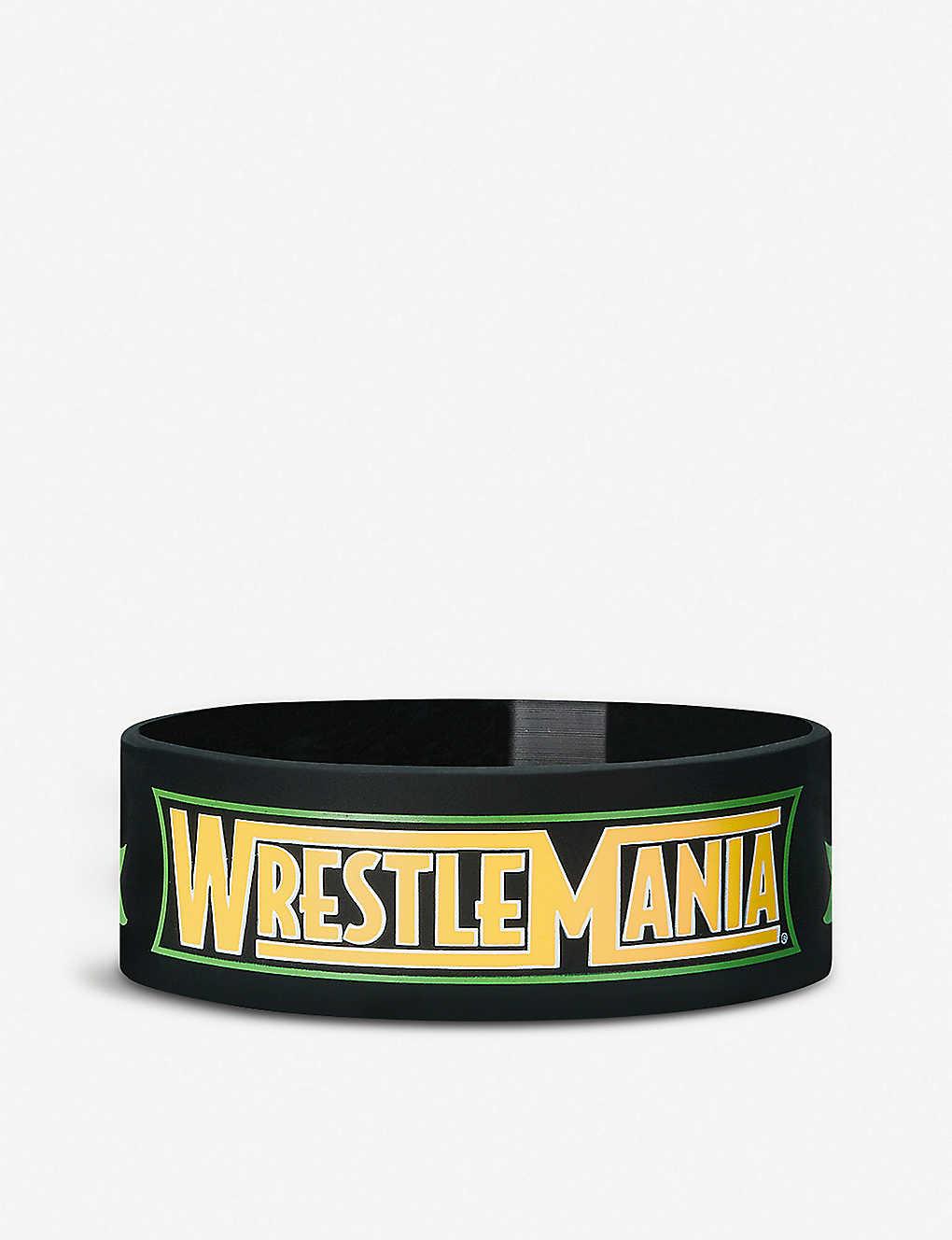 WWE - Wrestlemania 34 silicone bracelet   Selfridges com