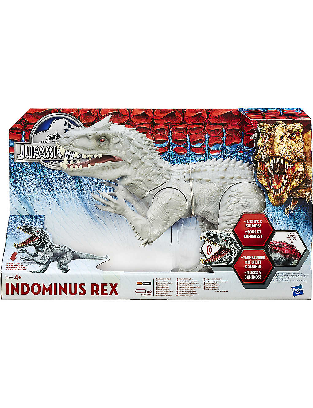 Dinosaur Jurassic World Indominus Toy Rex oedBCx