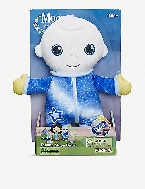 MOON AND ME Moon Baby interactive soft toy 23.6cm x 15cm