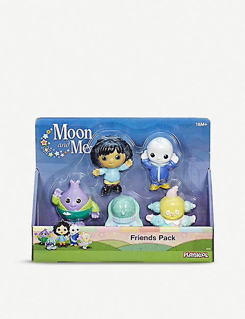 MOON AND ME Moon and Me friends pack of five