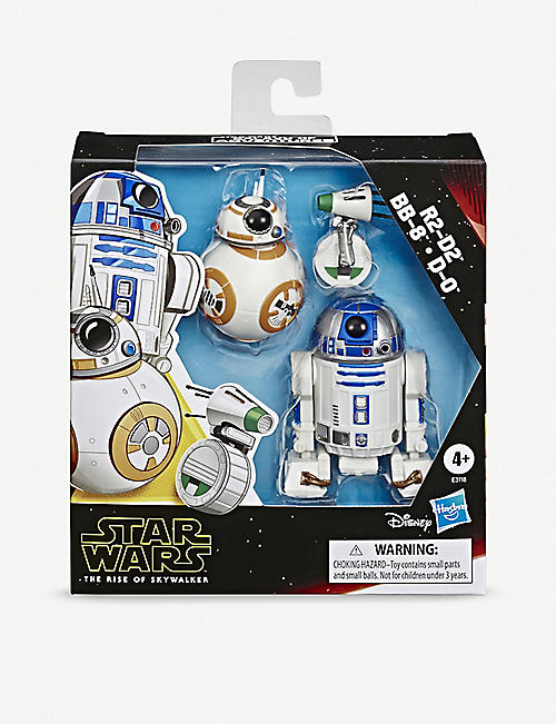 STAR WARS Star Wars Rise Of The Skywalker R2-D2, BB-8 & D-0 droid figurines