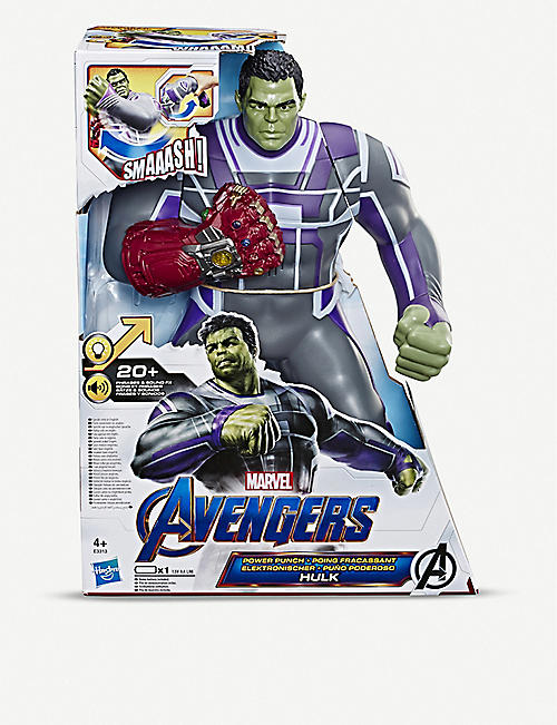 MARVEL AVENGERS Power Punch Hulk figure