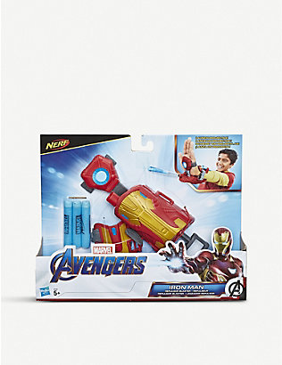 MARVEL AVENGERS: Iron Man Nerf Blast Repulsor Gauntlet