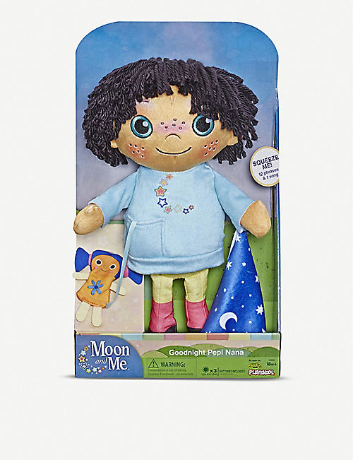 MOON AND ME Goodnight Pepi Nana interactive soft toy 38.1cm x 22.8cm