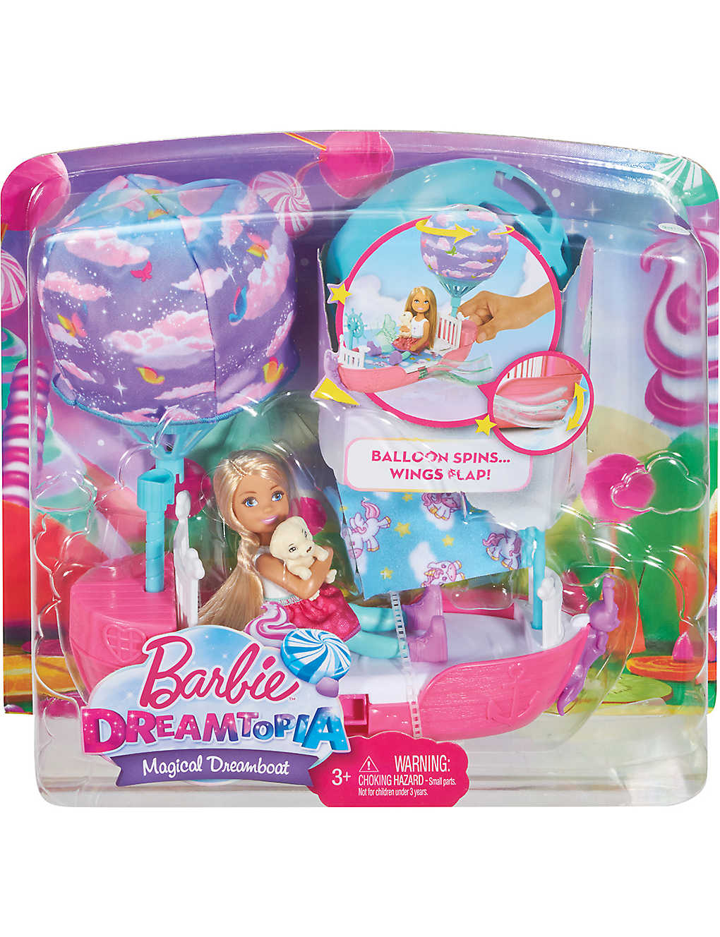 BARBIE - Chelsea's Dreamtopia Vehicle playset | Selfridges com
