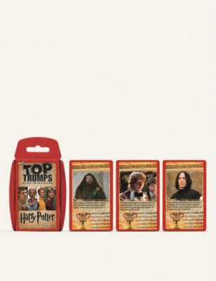 WIZARDING WORLD Harry Potter and Goblet of Fire Top Trumps card game