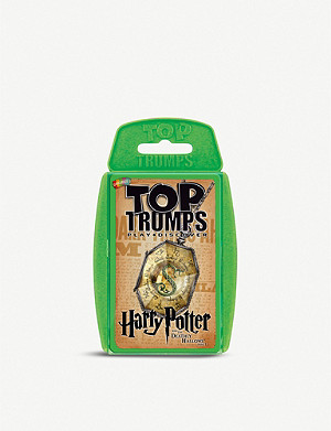 WIZARDING WORLD Harry Potter and The Deathly Hallows Part 1 Top Trumps card game